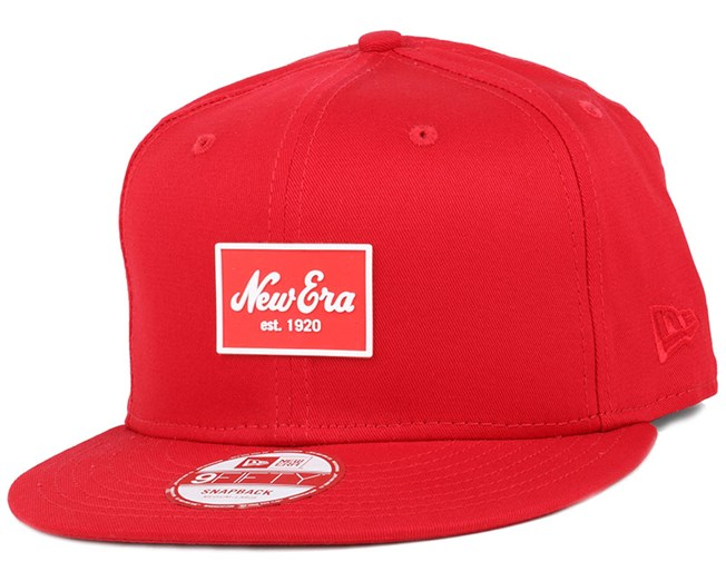 Patched Tone Scarlet 9Fifty Snapback - New Era
