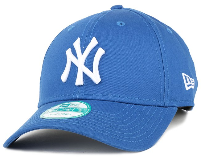 NY Yankees League Essential Blue 940 Adjustable - New Era
