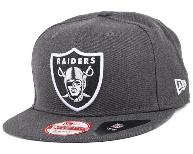 Oakland Raiders Tonal Team Heather 9Fifty Snapback - New Era