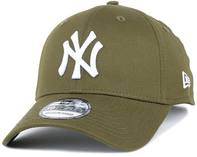 NY Yankees League Essential Rifle Green 39Thirty Flexfit - New Era