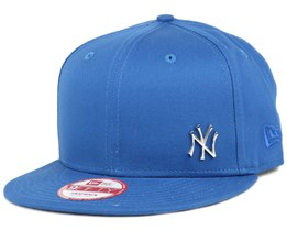 NY Yankees MLB Flawless Metal Blue 9Fifty Snapback - New Era