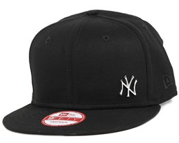 NY Yankees MLB Flawless Metal Black 9Fifty Snapback - New Era