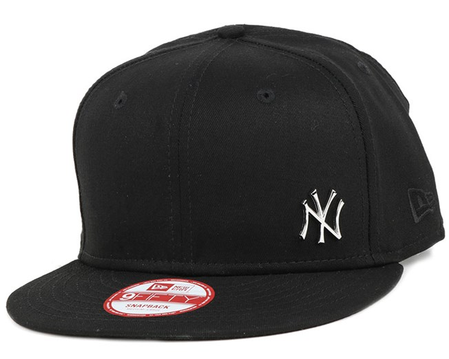 NY Yankees MLB Flawless Metal Black 9Fifty Snapback - New Era
