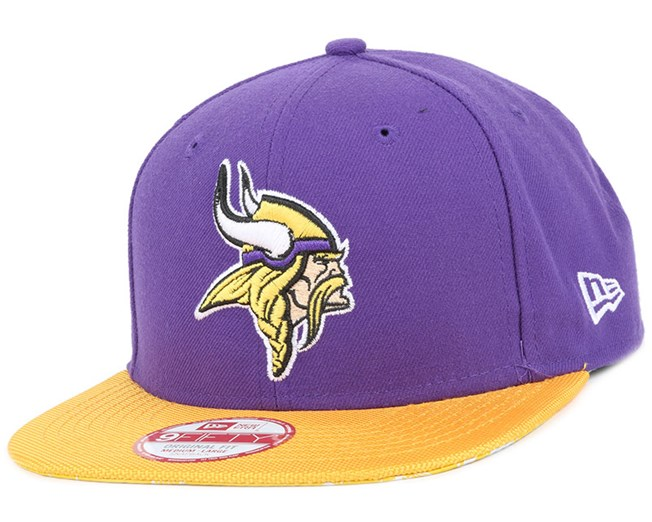 355ac3a4eba Minnesota Vikings NFL Sideline 9Fifty Snapback - New Era caps ...