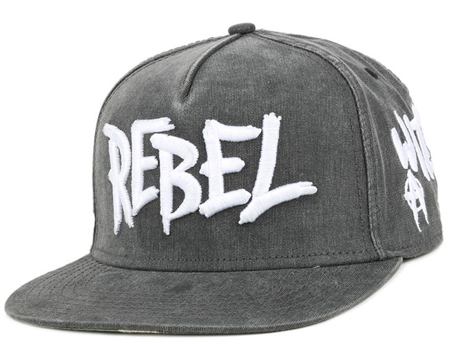 Rebel Vintage Black Snapback - Cayler & Sons