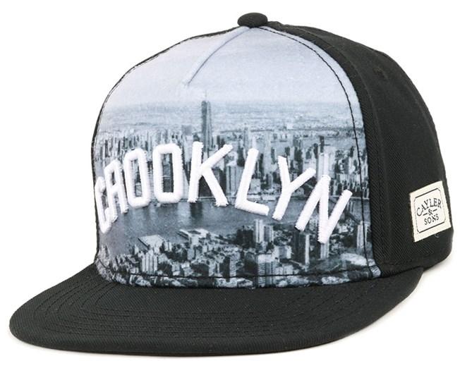 Crooklyn Skyline Black Snapback - Cayler & Sons