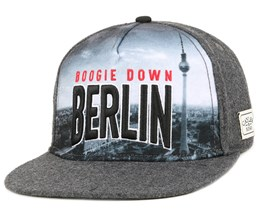 Berlin Skyline Grey Snapback - Cayler & Sons
