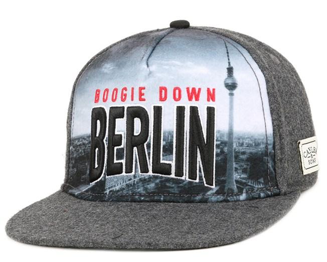 Berlin Skyline Grey Snapback - Cayler & Sons