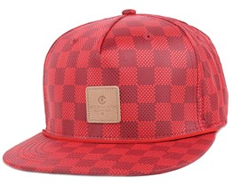 Check True Red Snapback - Crooks & Castles