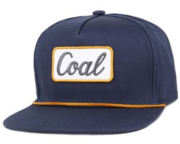 The Palmer Navy Snapback - Coal