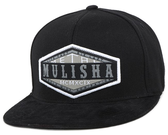 Match Black Fitted - Metal Mulisha