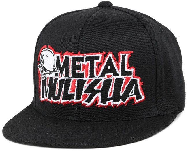 Kids General Black Fitted - Metal Mulisha