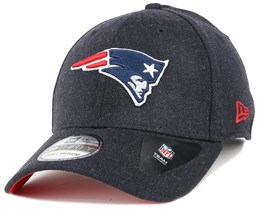 New England Patriots Team Heather Navy 39Thirty - New Era