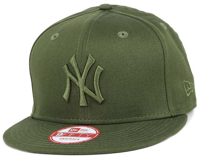 NY Yankees Leage Essential Rifle Green 9Fifty Snapback - New Era