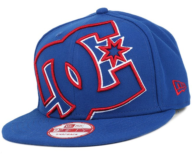 Double Up Varsity Blue/Chili Pepper 9Fifty Snapback - DC