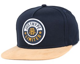 Justhype Crest Navy Snapback - Hype