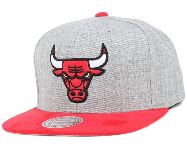 Chicago Bulls Heather Micro Snapback - Mitchell & Ness