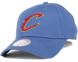 Cleveland Cavaliers Low Pro Navy Adjustable - Mitchell & Ness