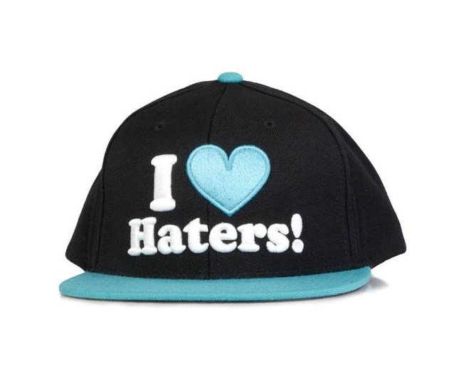 Haters Black/Teal - DGK