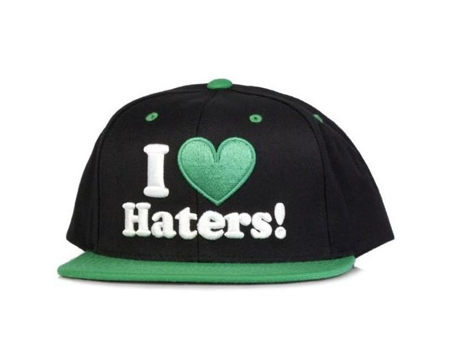 Haters Black/Green - DGK