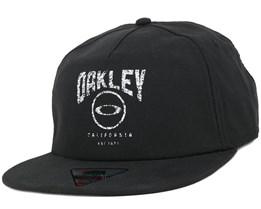 Foundation 2 Black Snapback - Oakley