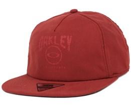 Foundation Fierd Brick Snapback - Oakley