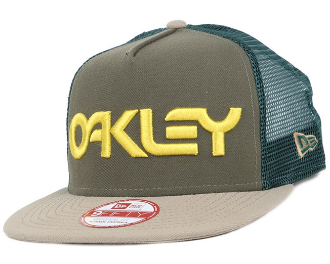 128ab22c ... trucker mesh snapback hat 5468a e2e23 coupon code for factory pilot mesh  dark brush 9fifty snapback oakley 79a7e d8764 ...