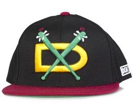 Night Hawks Black/Cardinal - DGK