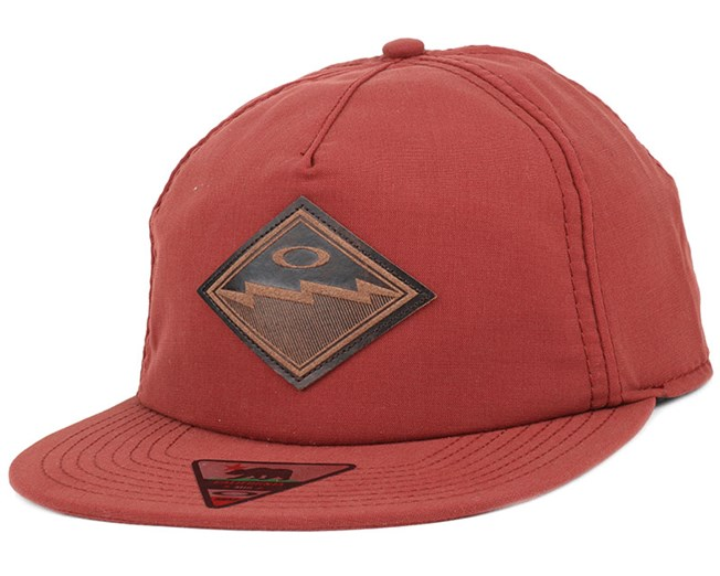 The Point Fired Brick Snapback - Oakley