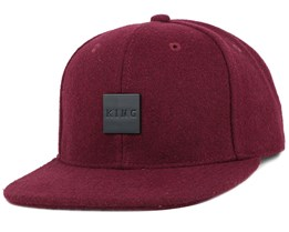 Sterling Maroon Snapback - King Apparel