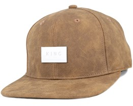 Silverline Tan Snapback - King Apparel