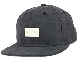 Silverline Black Snapback - King Apparel