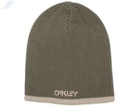 Factory Flip Dark Brush Beanie - Oakley