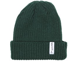 Ribbed Retro Bottle Green Beanie - Appertiff