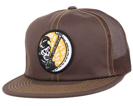 Sleeper Brown Snapback - Brixton