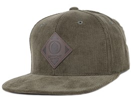 Offspring Cord Army Green Snapback - Upfront