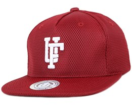 Team Up Bordeaux Snapback - Upfront