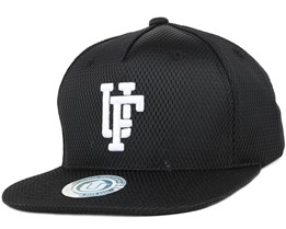 Team Up Black Snapback - Upfront