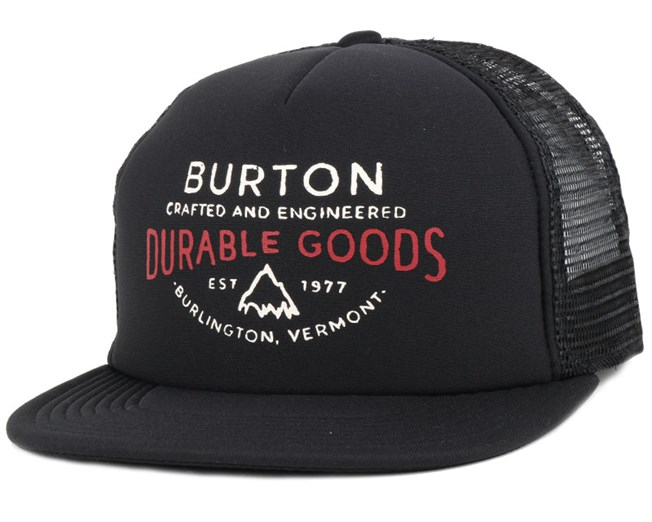 I-80 True Black Durable Snapback - Burton