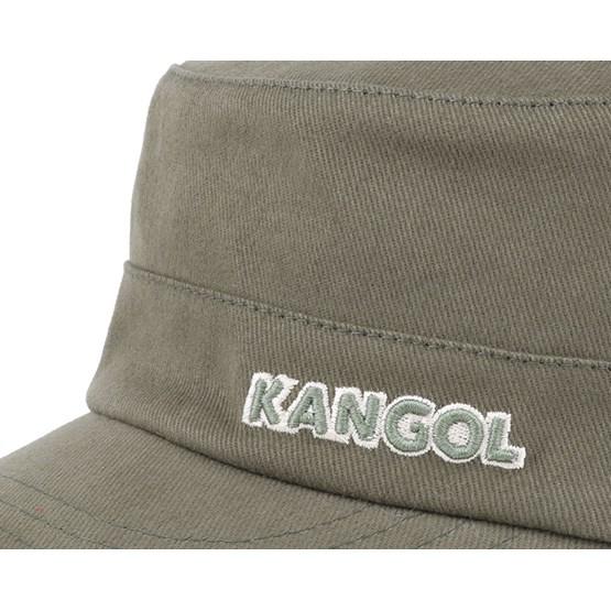 4b881c48538 Kangol Cotton Adjustable Army Cap Army Green Free Uk