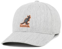 3D Baseball Flanell/Orange Flexfit - Kangol