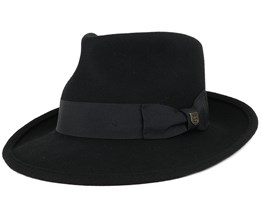 Swindle Black/Black Fedora - Brixton