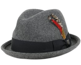 Gain Fedora Heather Grey Fedora - Brixton