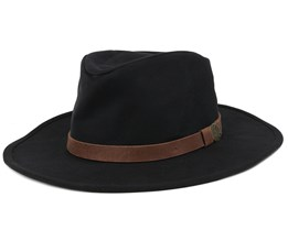 Thorpe Black/Brown Fedora - Brixton