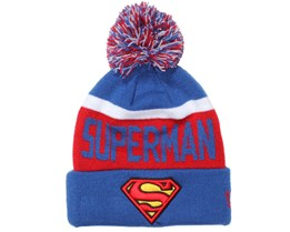 Kids Superman Team Jake Beanie - New Era