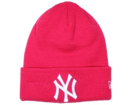 Kids NY Yankees Essential Pink Beanie - New Era