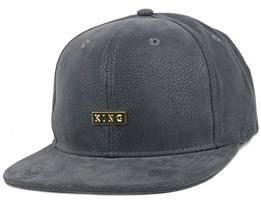 Luxe Grey Snapback - King Apparel
