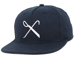Handcraft Navy Snapback - King Apparel