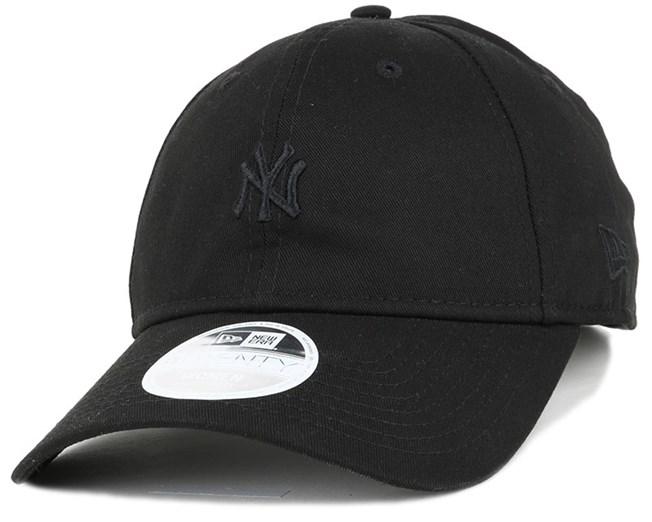 NY Yankees Mini Logo Essential Woman Black 940 Adjustable - New Era