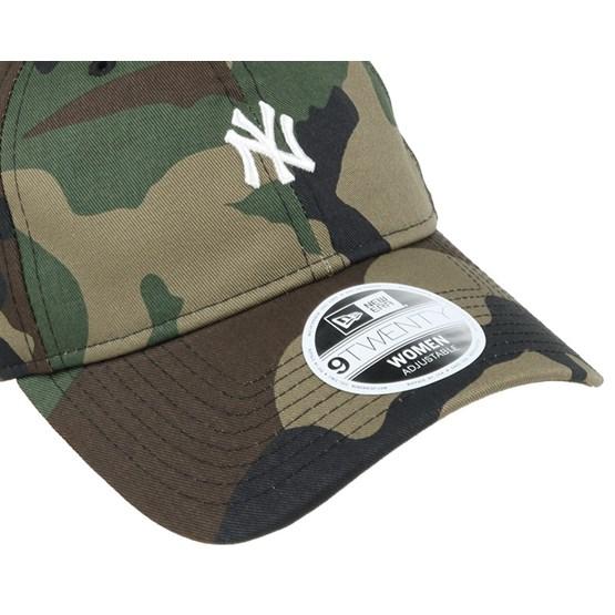 def5db54254 authentic ny yankees mini logo essential woman camo 940 adjustable new era  caps hatstore a7c86 6bc17